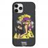 Чехол Hustle Case Girl & Cards Black для iPhone 12 | 12 Pro