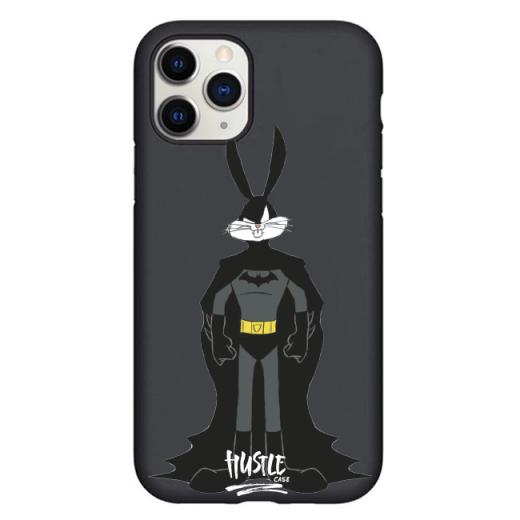 Чехол Hustle Case Bucks Bunny Batman Black для iPhone 12   12 Pro