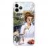 Прозрачный чехол Hustle Case Girlfriend 2 Clear для iPhone 12 Pro Max