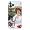 Прозрачный чехол Hustle Case Girlfriend 2 Clear для iPhone 12 | 12 Pro