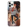 Прозрачный чехол Hustle Case Girl New Year Clear для iPhone 12 Pro Max