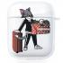 Прозрачный силиконовый чехол Hustle Case Tom Clear для AirPods 1 | 2