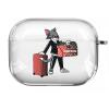 Прозрачный силиконовый чехол Hustle Case Tom Clear для AirPods Pro