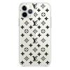 Прозрачный чехол Hustle Case LV Clear для iPhone 12   12 Pro