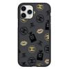 Чехол Hustle Case Girl Chanel Black для iPhone 12 Pro Max