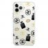 Прозрачный чехол Hustle Case Girl Chanel Clear для iPhone 12 Pro Max
