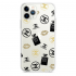 Прозрачный чехол Hustle Case Girl Chanel Clear для iPhone 12   12 Pro