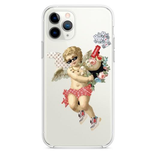 Прозрачный чехол Hustle Case Angel Supreme Clear для iPhone 12   12 Pro