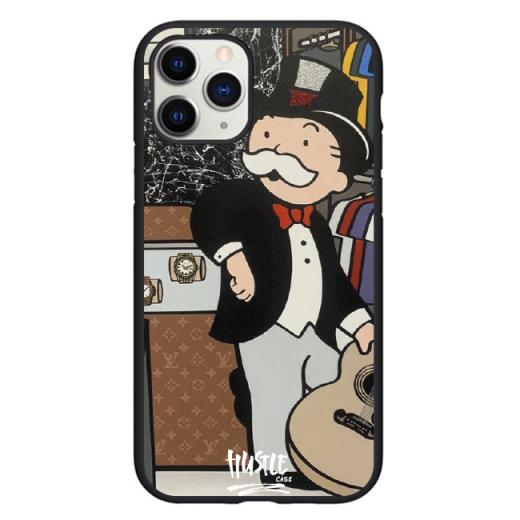 Чехол Hustle Case Monopoly Rolex Black для iPhone 12 Pro Max