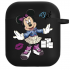 Силиконовый чехол Hustle Case NEW Minnie Black для AirPods 1 | 2