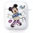Прозрачный силиконовый чехол Hustle Case NEW Minnie Clear для AirPods 1 | 2