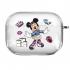 Прозрачный силиконовый чехол Hustle Case NEW Minnie Clear для AirPods Pro