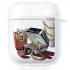 Прозрачный силиконовый чехол Hustle Case Ice Big Mac Clear для AirPods 1 | 2