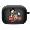 Силиконовый чехол Hustle Case Scrooge New Black для AirPods Pro