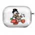 Прозрачный силиконовый чехол Hustle Case Scrooge New Clear для AirPods Pro