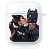 Прозрачный силиконовый чехол Hustle Case Batman Love Clear для AirPods 1   2
