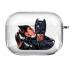 Прозрачный силиконовый чехол Hustle Case Batman Love Clear для AirPods Pro