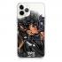 Прозрачный чехол Hustle Case Batman Love Clear для iPhone 12 Pro Max
