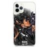 Прозрачный чехол Hustle Case Batman Love Clear для iPhone 12   12 Pro