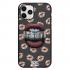 Чехол Hustle Case Lips Black для iPhone 12 Pro Max