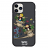 Чехол Hustle Case Monopoly Plane Black для iPhone 12 Pro Max