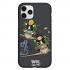 Чехол Hustle Case Monopoly Plane Black для iPhone 12   12 Pro