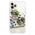 Прозрачный чехол Hustle Case Monopoly Plane Clear для iPhone 12 | 12 Pro