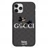 Чехол Hustle Case Gucci Mickey Black для iPhone 12 Pro Max