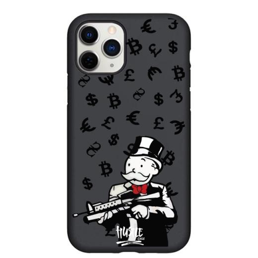 Чехол Hustle Case Monopoly AK Black для iPhone 12 | 12 Pro