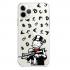Прозрачный чехол Hustle Case Monopoly AK Clear для iPhone 12 | 12 Pro