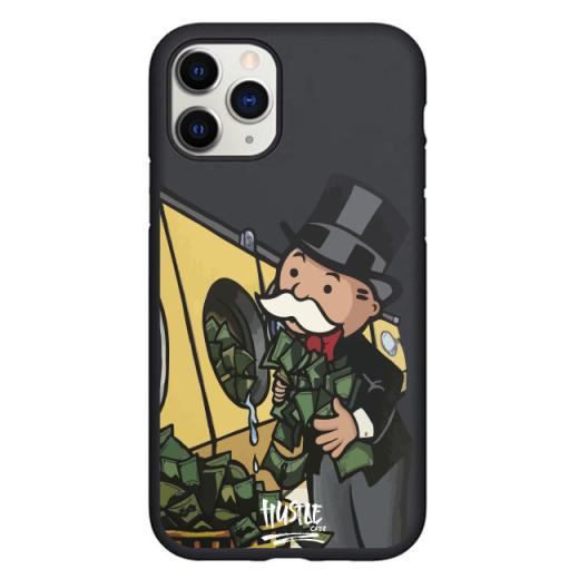 Чехол Hustle Case Monopoly Wash Black для iPhone 12 Pro Max