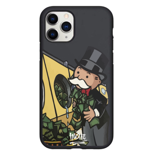 Чехол Hustle Case Monopoly Wash Black для iPhone 12 | 12 Pro