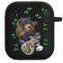 Силиконовый чехол Hustle Case Bear Black для AirPods 1   2