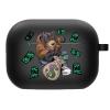 Силиконовый чехол Hustle Case Bear Black для AirPods Pro