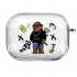 Прозрачный силиконовый чехол Hustle Case Bear Hustle Clear для AirPods Pro