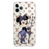 Прозрачный чехол Hustle Case Minnie Mouse Clear для iPhone 12 | 12 Pro