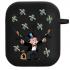 Силиконовый чехол Hustle Case Monopoly Kalash Black для AirPods 1 | 2