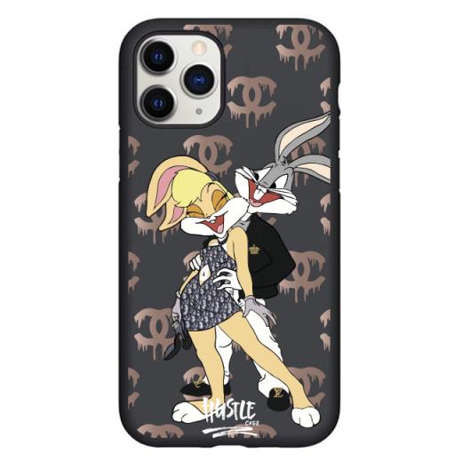 Чехол Hustle Case Bucks Bunny Love 2 Black для iPhone 12 Pro Max