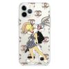 Прозрачный чехол Hustle Case Bucks Bunny Love 2 Clear для iPhone 12 | 12 Pro