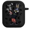 Силиконовый чехол Hustle Case Bucks Bunny Gun Black для AirPods 1 | 2