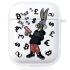 Прозрачный силиконовый чехол Hustle Case Bucks Bunny Gun Clear для AirPods 1 | 2