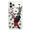Прозрачный чехол Hustle Case Bucks Bunny Gun Clear для iPhone 12 Pro Max