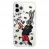 Прозрачный чехол Hustle Case Bucks Bunny Gun Clear для iPhone 12 | 12 Pro