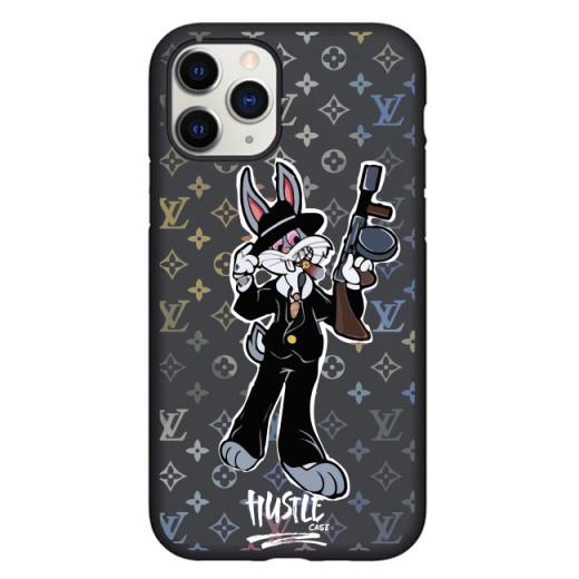 Чехол Hustle Case Bucks Bunny Thompson Black для iPhone 12   12 Pro