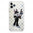Прозрачный чехол Hustle Case Bucks Bunny Thompson Clear для iPhone 12   12 Pro