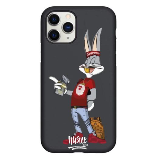 Чехол Hustle Case Bucks Bunny Dollar Black для iPhone 12 | 12 Pro