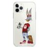 Прозрачный чехол Hustle Case Bucks Bunny Dollar Clear для iPhone 12 | 12 Pro