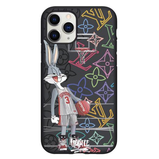 Чехол Hustle Case Bucks Bunny Basket Black для iPhone 12   12 Pro