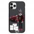 Чехол Hustle Case Bucks Bunny Porsche Black для iPhone 12 | 12 Pro