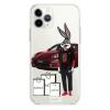 Прозрачный чехол Hustle Case Bucks Bunny Porsche Clear для iPhone 12   12 Pro